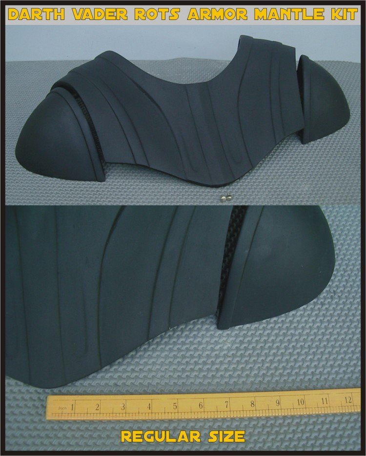 Custom Made Darth Vader ROTS Chest breastplate Armor Mantle  Armor Life Size Armor Prop Kit Reg