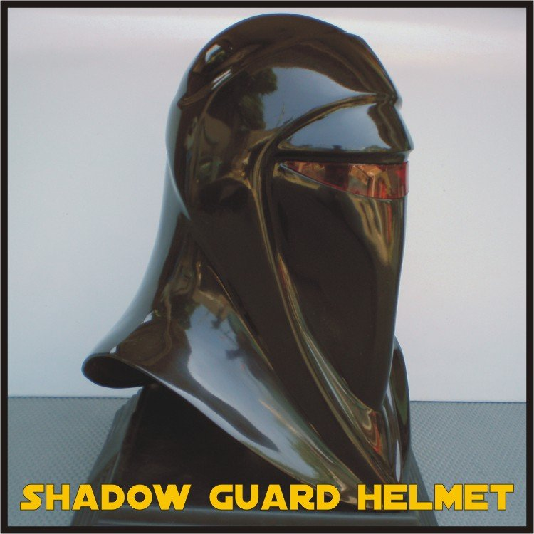 Custom Made Star Wars Shadow Guard Life Size Helmet Prop
