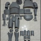 Custom Made Star Wars TFA Stormtrooper Captain Phasma Armor Life Size Armor Prop Kit