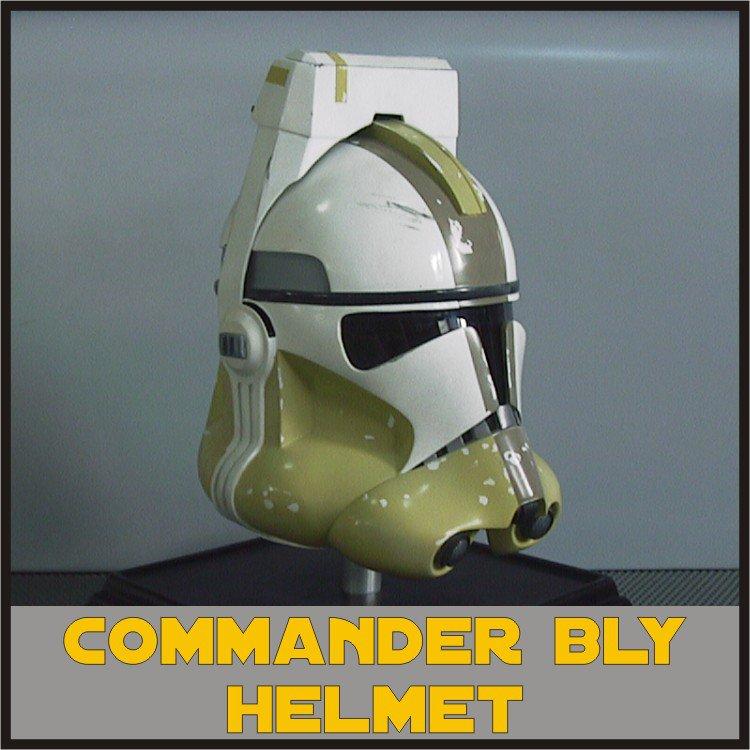 Custom Made Star Wars Clone Trooper Commander Bly ROTS Adult Size Helmet Prop