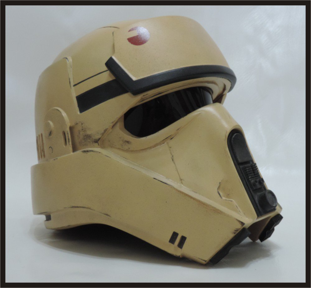 Custom Made Star Wars Rogue 1 Scariff Shore Trooper/Shoretrooper Adult Size Helmet Prop