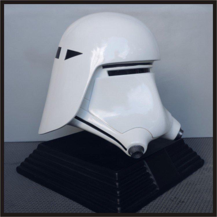 Custom Made Star Wars TFA Snowtrooper Adult Size Helmet Prop