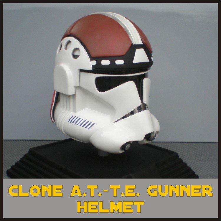 Custom Made Star Wars Clone Trooper At-Te Adult Size Helmet Prop