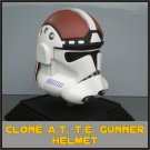 Custom Made Star Wars Clone Trooper At-Te Adult Size Helmet Prop