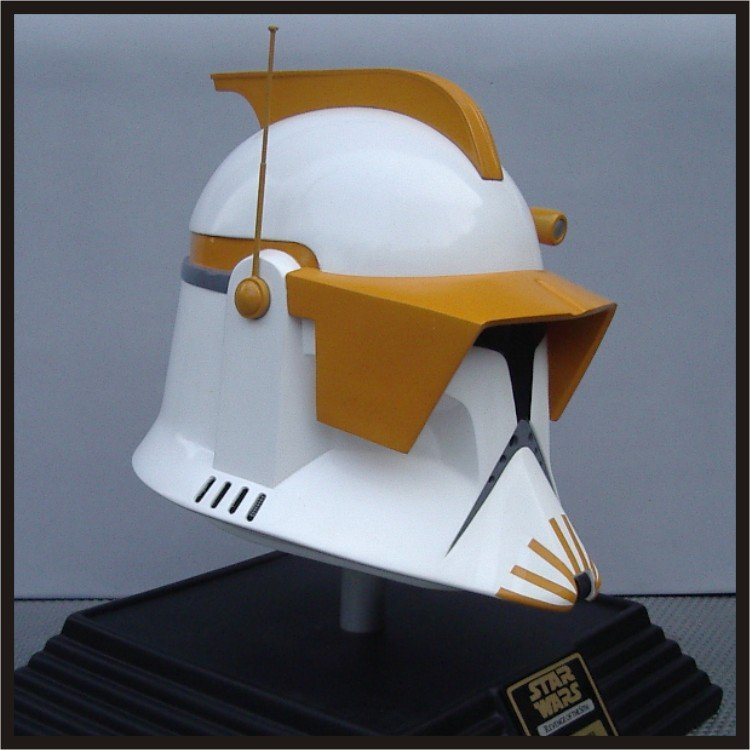 Custom Made Star Wars Clone Trooper Commander Cody TCW Adult Size Helmet Prop