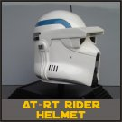 Custom Made Star Wars Clone Trooper At-Rt Adult Size Helmet Prop