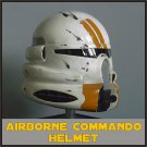 Custom Made Star Wars Clone Trooper Airborne Commander Keller Adult Size Helmet Prop