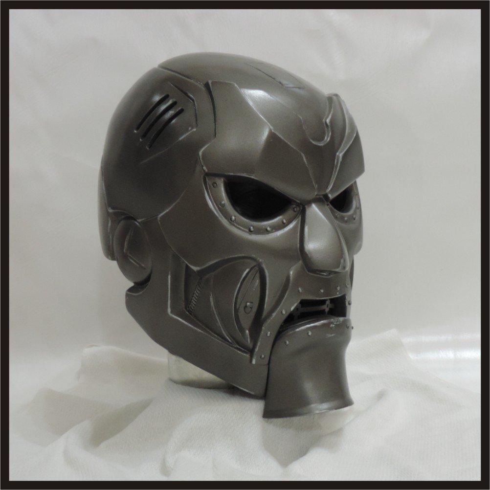 Custom Made Classic Dr Doom 2nd Edition Life size Helmet Superhero Prop