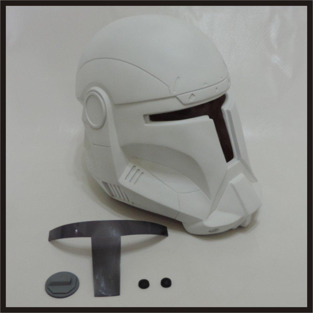 Custom Made Star Wars Clone Trooper Republic Commando Life Size Helmet Prop Kit