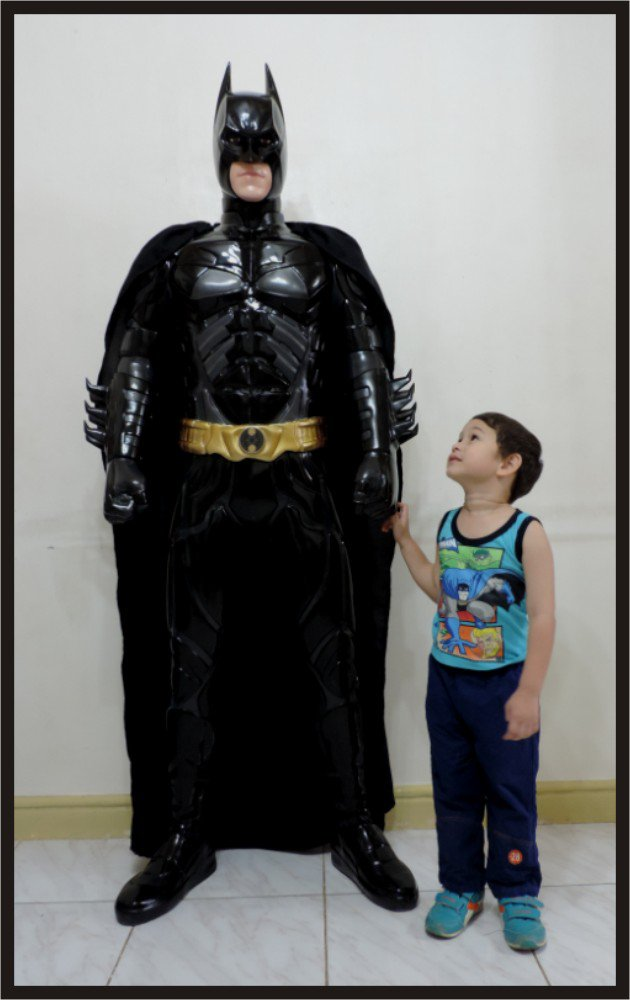 Custom Made Life Size Batman Dark Knight Superhero Statue Prop