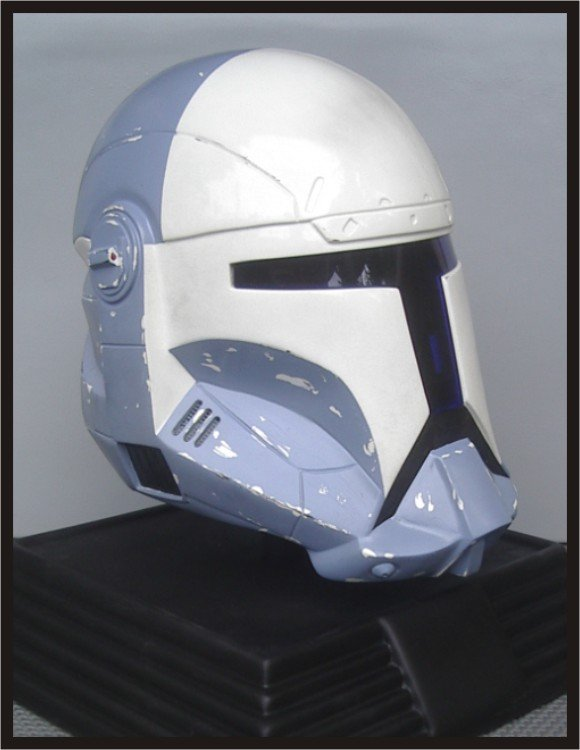 Custom Made Star Wars Clone Trooper Republic Commando Scorch Adult Size Helmet Prop