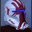 Custom Made Star Wars Clone Trooper Republic Commando Sev Adult Size Helmet Prop