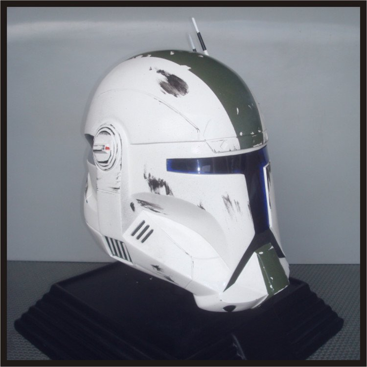 Custom Made Star Wars Clone Trooper Republic Commando Fixer Adult Size Helmet Prop