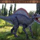Custom Made Life Size Baryonyx/Adolescent Spinosaurus Dinosaur Statue