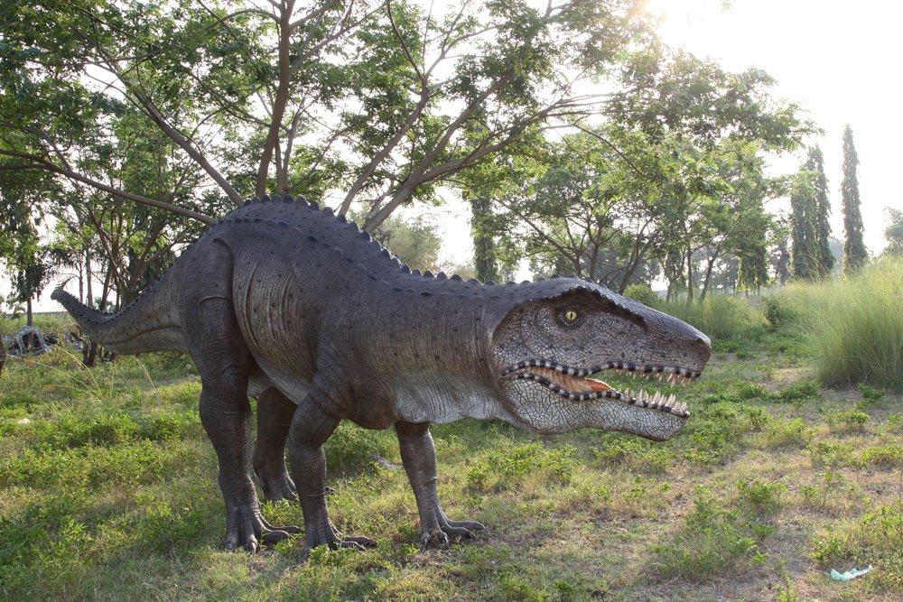 Custom Made Life Size Postosuchus Dinosaur Statue
