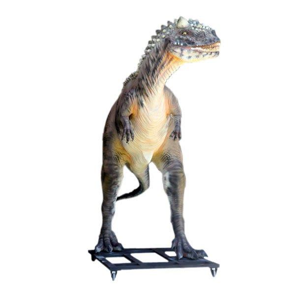 Custom Made Life Size Carnotaurus Dinosaur Statue