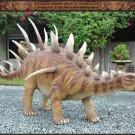 Custom Made Life Size Kentrosaurus 12' Dinosaur Era Statue