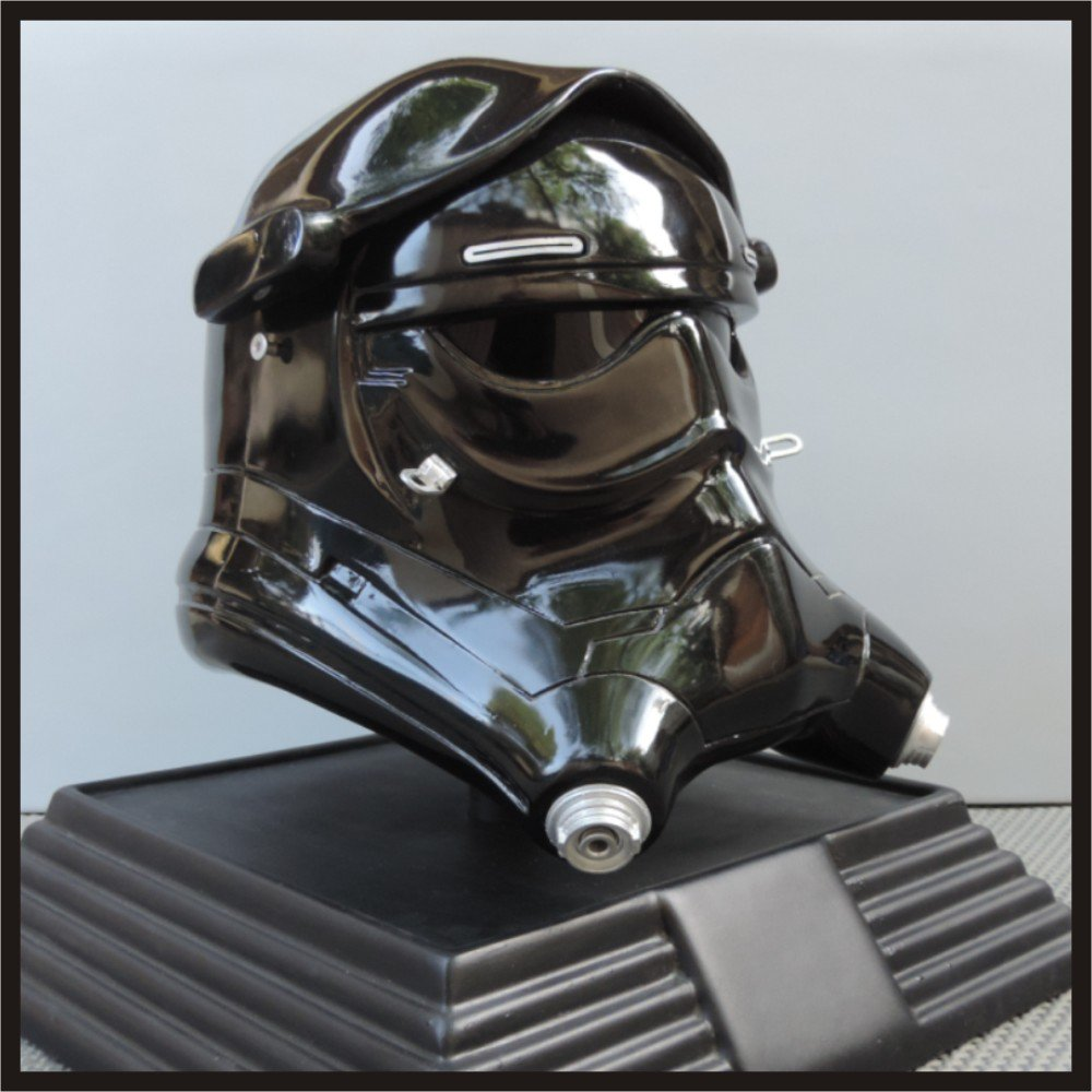 Custom Made Star Wars TFA TIE Pilot Adult Size Helmet Prop