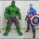 Custom Made Life Size Avengers Statue Prop Set