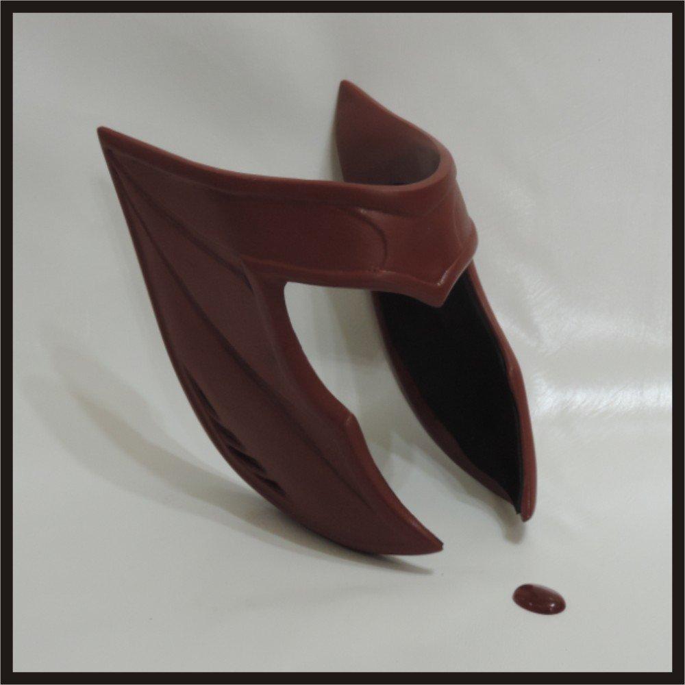 Custom Made Scarlet Witch Life Size Demi-Helmet/Mask Superhero Prop