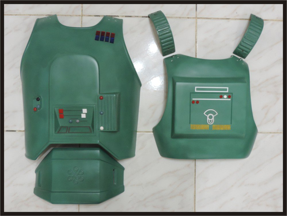 Custom Made Star Wars General Veers Adult Size Armor Set Prop