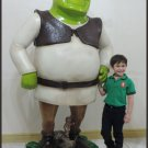 Custom Made Life Size 6' Shrek with Ginger Bread Man Statue