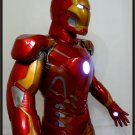 Custom Made Life Size Iron Man Mk43 Superhero Statue Prop