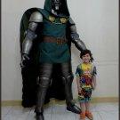 Custom Made Life Size Dr Doom Superhero Statue Prop