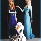 Custom Made Life Size Frozen Elsa-Anta-Olaf 3 Statue Prop Set
