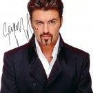 George Michael Sexy Printed on Plexiglass Photo 13*18 Cm. Autograph Signed Autogramm Reprint 45