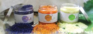 SCENTED SEA SALTS