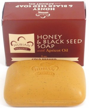 NATURAL HONEY & BLACK SEED OIL SOAP