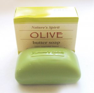 NATURAL OLIVE BUTTER SOAP