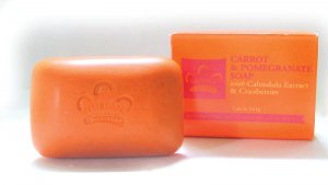 CARROT OIL & POMEGRANATE SOAP     7oz    ZPNM-S312