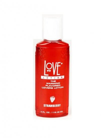 Strawberry Doc Johnson 4oz Edible Love Lotion