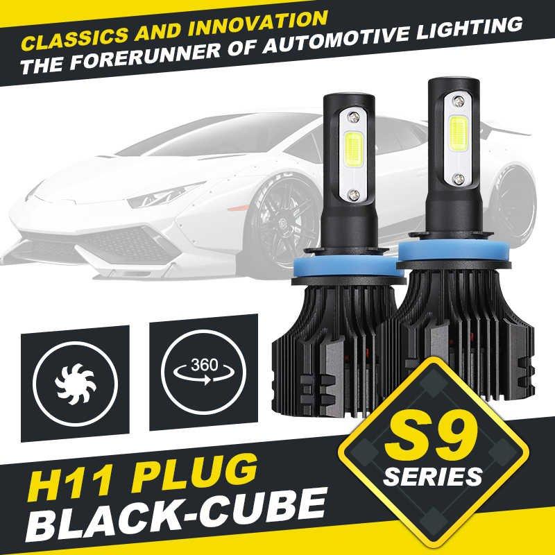 (2pcs/set) S9 Series H11/H9/H8 LED Light Headlight Conversion Bulb