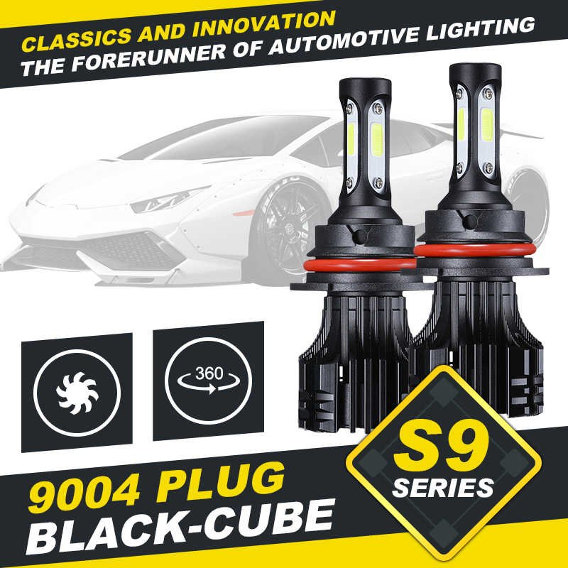 (2PCS/SET) S9 SERIES 9004 HI-LO BEAM LED HEADLIGHT CONVERSION BULB
