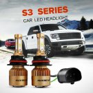 (2PCS/SET) S3-SERIES 9007 HI-LO BEAM LED HEADLIGHT CONVERSION BULB