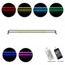 Cross-2 Series 52 inch 300W RGB Straight Combo Beam LED Light Bar (RGB Cross-style DRL)