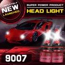 (2PCS/SET) S4 SERIES 9007 HI-LO BEAM LED HEADLIGHT CONVERSION BULB