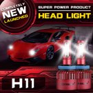 (2PCS/SET) S4 SERIES H11/H9/H8 LED LIGHT HEADLIGHT CONVERSION BULB