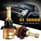 (2PCS/SET) S3-SERIES H13/9008 PHILIPS CSP HI-LO BEAM HEADLIGHT CONVERSION BULB
