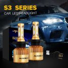 (2PCS/SET) S3-SERIES H4/9003/HB2 PHILIPS CSP HI-LO BEAM HEADLIGHT CONVERSION BULB