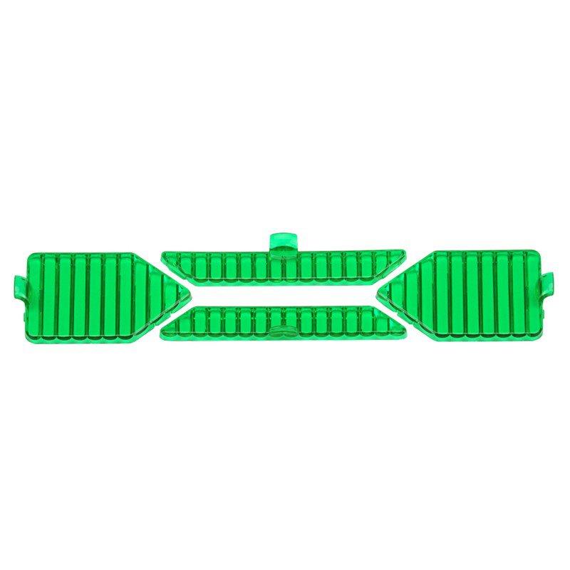 (4pcs/set)Detachable Flood Beam Green Filters for X Series LED Light Bar