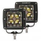 (2pcs/set) 3 inch 20W PHILIPS Square LED Fog Light Spotlight (4D Projector Hyperspot)