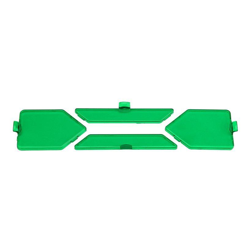 (4pcs/set)Detachable Spot Beam Green Filters for X Series LED Light Bar
