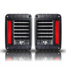 (2PCS/SET) INTEGRATED TAIL LIGHTS FOR 07-16 JEEP WRANGLER JK (AMERICAN VERSION)