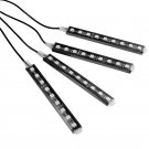 (4PCS/SET) RGB INTERIOR ATMOSPHERE LED STRIP LIGHT