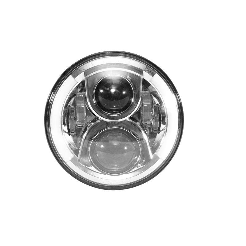 7 INCH OSRAM ROUND LED HI-LO BEAM SEAL-BEAM PROJECTOR HEADLIGHT FOR HARLEY DAVIDSON