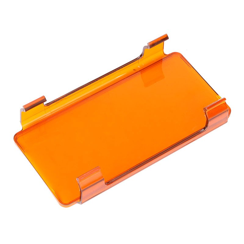 6 inch Amber PC Protective Lens Cover for LED Light Bar